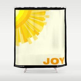Fruit of the Spirit, Joy Shower Curtain
