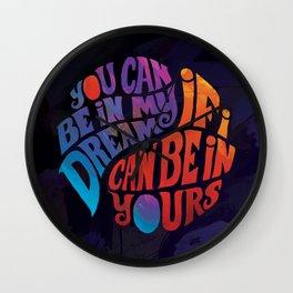 Dream Peace Wall Clock