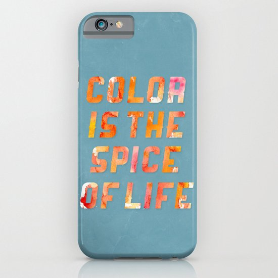 Spice of Life iPhone & iPod Case