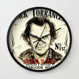 Red Rum Anyone? Wall Clock