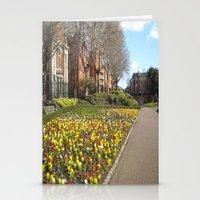 dublin Stationery Cards featuring Dublin by Ganeswar Sahoo