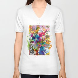 Street Art Attack Unisex V-Neck