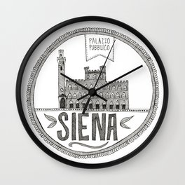 siena Wall Clock