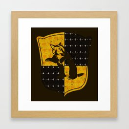 Hufflepuff House Framed Art Print