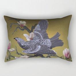 The Shangyang Rainbird Rectangular Pillow