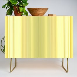 Abstract Modern Yellow stripes v1 Credenza