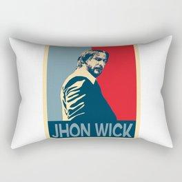 John wick Rectangular Pillow