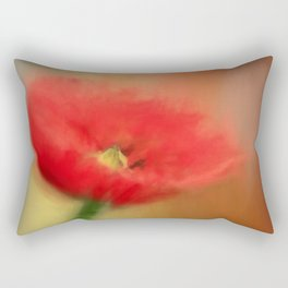 Poppy Elegance Rectangular Pillow