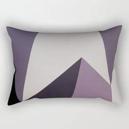 Dazzle Ship Camouflage Graphic Design (Detail) Rectangular Pillow