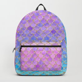 Pretty Mermaid Scales 07 Backpack