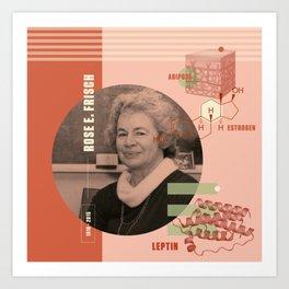 Beyond Curie: Rose Frisch Art Print