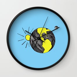 Big Beautiful World Wall Clock