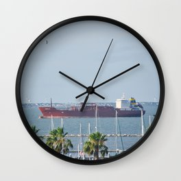 Petrochemical Tanker Wall Clock