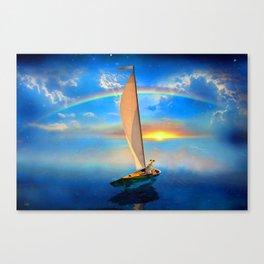 I'm Sailing Away Canvas Print