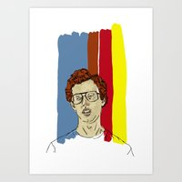 napoleon Art Prints featuring Napoleon by Grant Killoran