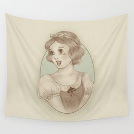 Snow White Wall Tapestry