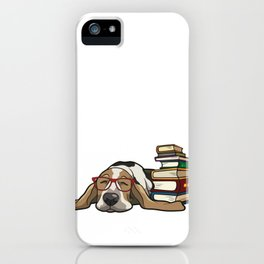 Basset Hound 1 iPhone Case