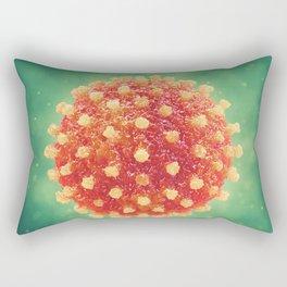 Pandemic virus Rectangular Pillow