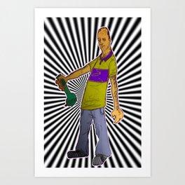 hep Karl Art Print