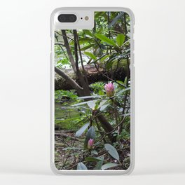 Rhododendron on Abrams Creek Clear iPhone Case
