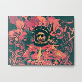 Rocket Man Metal Print