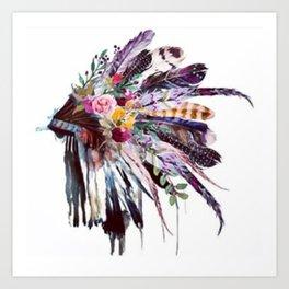 Indian Headdress Kunstdrucke