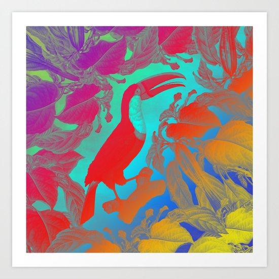 TROPICAU Art Print