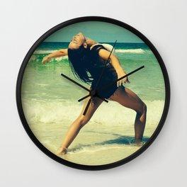 Dancing Waves - Seaside, FL Wall Clock