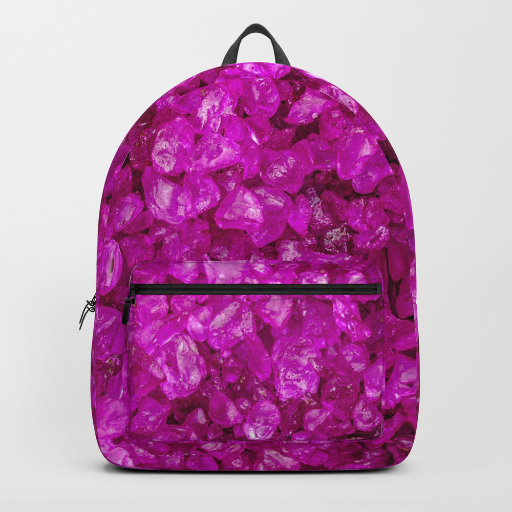 Small Sparkling Pebbles G Backpack by Mehrfarbeimleben BKP8457769