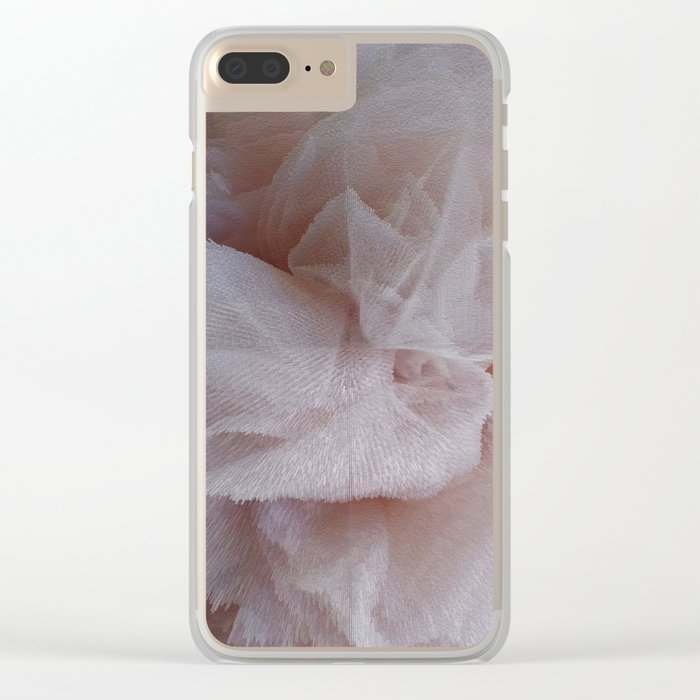 Abstract 193 Clear iPhone Case