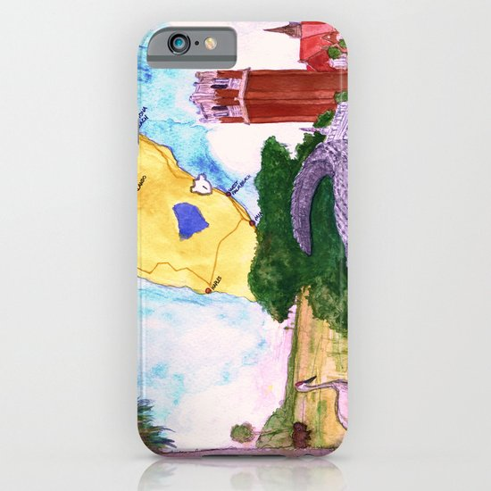 """Gainesville, FL"" by Cap Blackard iPhone & iPod Case"