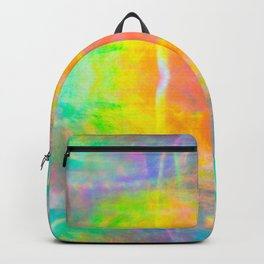 Prisms Play of Light 1 Mandala Backpack