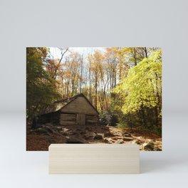 Cabin in the Woods Mini Art Print