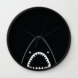 white shark Wall Clock