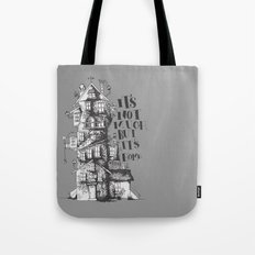 a humble residence Tote Bag