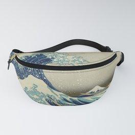 Ukiyo-e, Under the Wave off Kanagawa, Katsushika Hokusai Fanny Pack