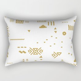 Boho Minimal Mood I. Rectangular Pillow