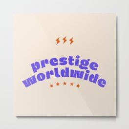 Prestige Worldwide Metal Print