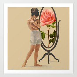 She Is the Rose Art Print