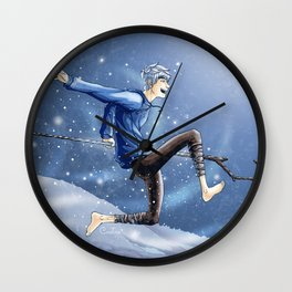 Jack Frost Wall Clock