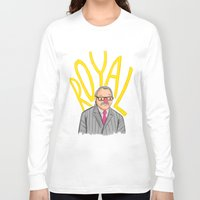 tenenbaum Long Sleeve T-shirts featuring Royal Tenenbaum by Ben J Hutch