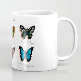 Nymphalidae butterflies Coffee Mug