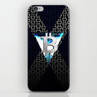 scotland iPhone & iPod Skins featuring bitcoin scotland by seb mcnulty