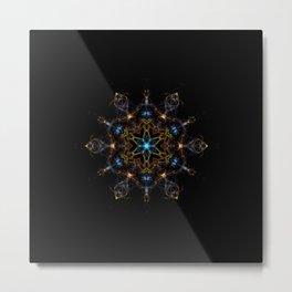 Full Spectrum Mandala Metal Print