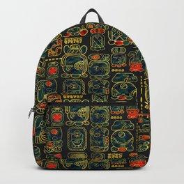 Maya Calendar Glyphs pattern Backpack