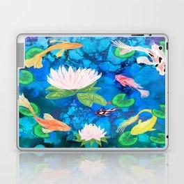 Koi Fish alcohol ink Laptop & iPad Skin