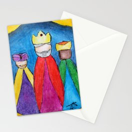 3 KINGS - The Magi Stationery Cards