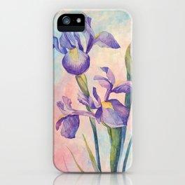 Angel Iris - Joyful iPhone Case