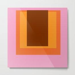 Abstract Color Combination No 45 Metal Print