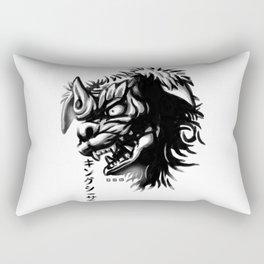 Waterbrushed Shisa Rectangular Pillow